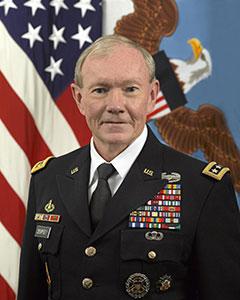 U.S. Joint Chiefs of Staff Chairman General Martin Dempsey