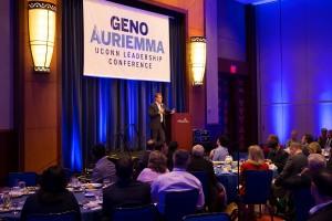 Geno Auriemma UConn Leadership Conference 2014